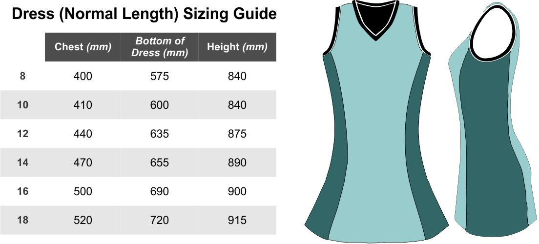 Dress-Normal-Sizing-Guide