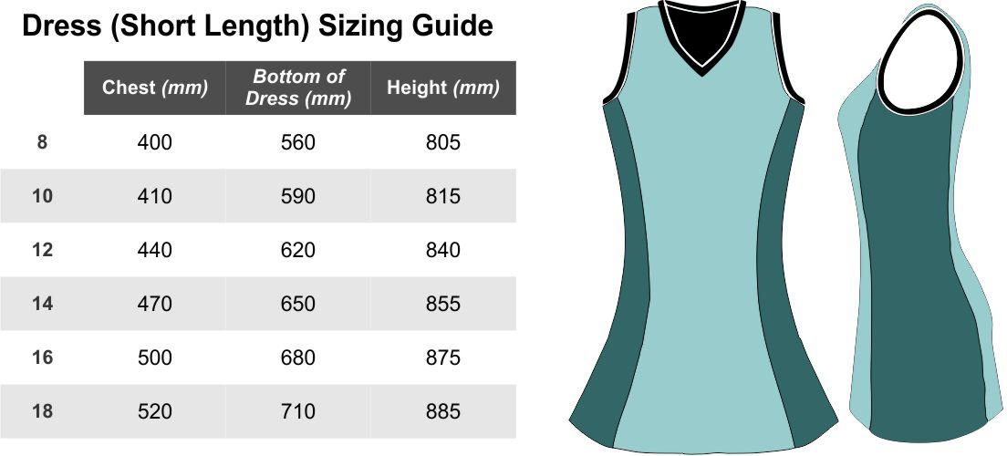 Dress-Short-Sizing-Guide